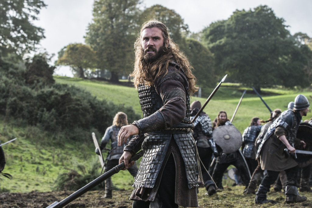 Rollo (Clive Standen) is a force to be reckoned with in battle