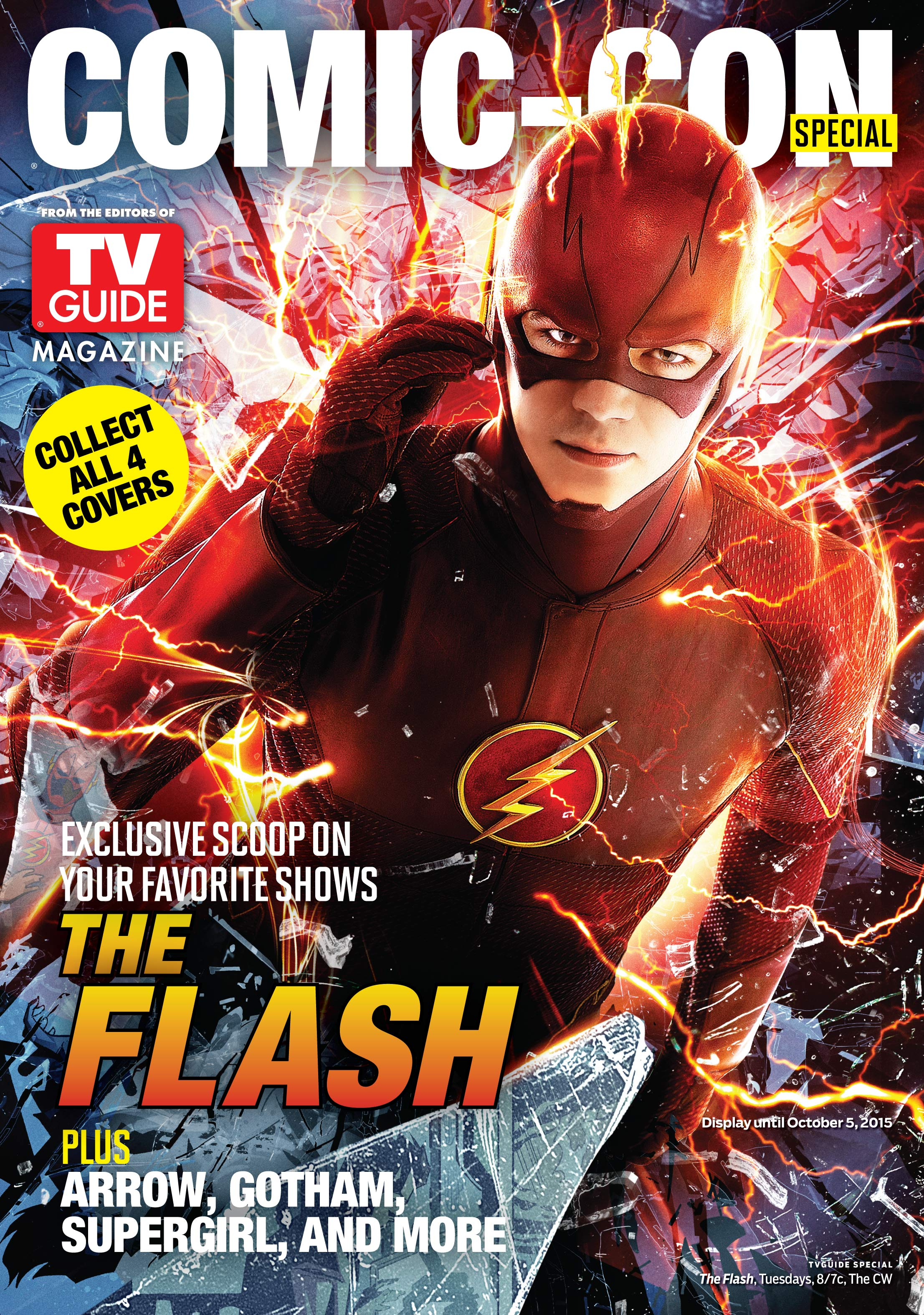 THE FLASH - TV Guide cover